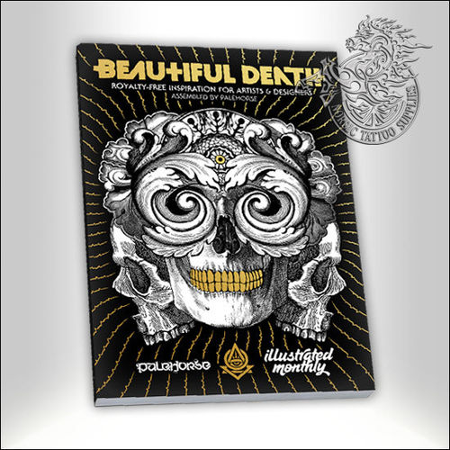 Tattoo Book - Illustrated Monthly - Beautiful Death