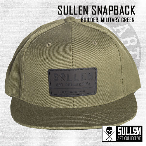Sullen Snapback - Builder - Military Green