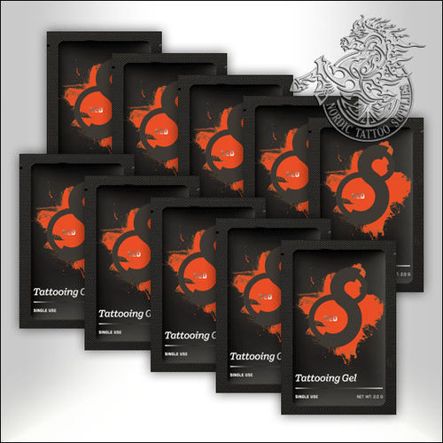 S8 Red Tattooing Gel 3g Sachet 10pcs