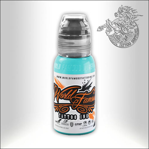 World Famous Ink - Barrier Reef Blue, 30ml