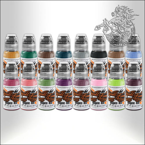 World Famous Ink - A.D. Pancho ProTeam Colorset 16x30ml