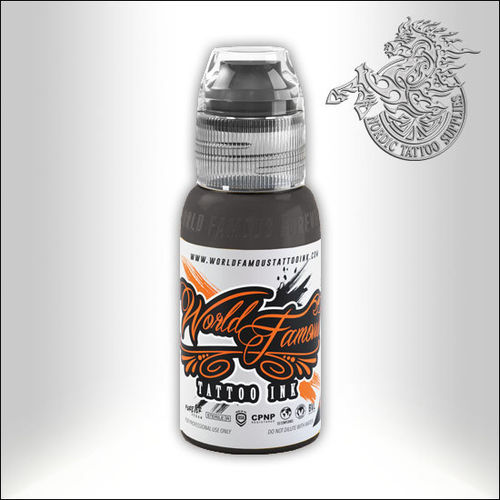 World Famous Ink - Sarah Miller - Fenrir Grey #3, 30ml