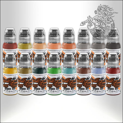 World Famous Ink - Sarah Miller's V. Portrait Set 16x30ml