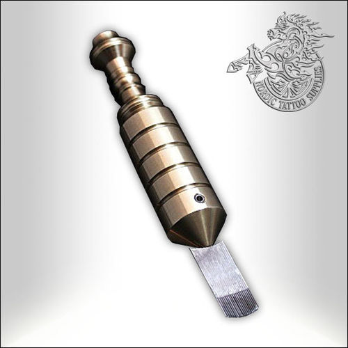 Lithuanian Irons Pure Brass Handpoke Tool 25mm