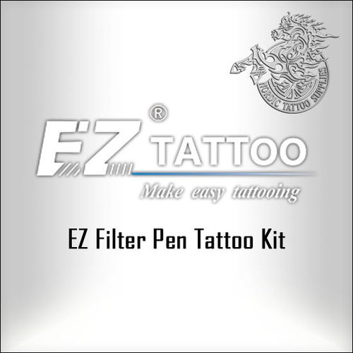 EZ Filter Pen Tattoo Kit