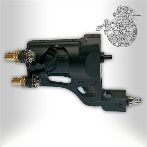 Shagbuilt The One Tattoo Machine - Matte Black - Clipcord