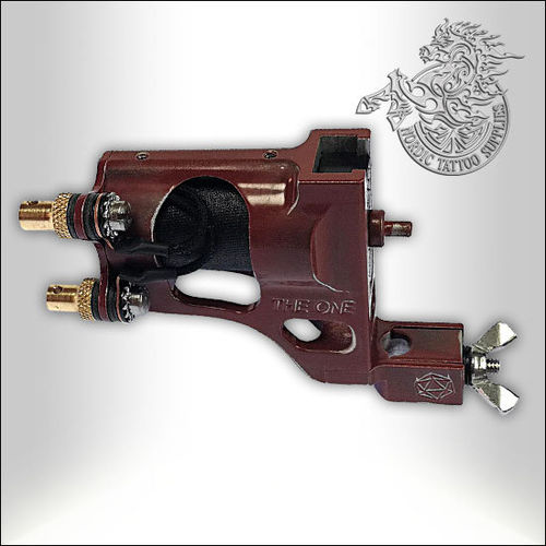 Shagbuilt The One Tattoo Machine - Vintage Red - Clipcord