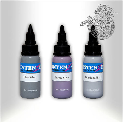 Intenze Essential Silver Kit, 30ml (1oz) Bottles