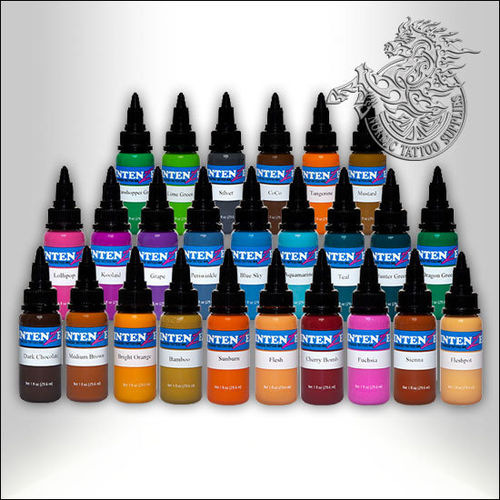 Intenze 25 Colours Kit, 30ml (1oz) Bottles