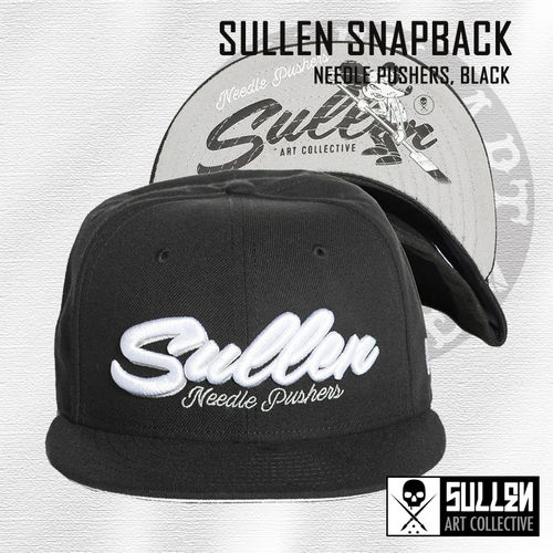 Sullen Snapback - Needle Pushers - Black