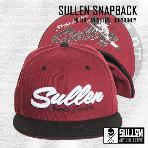 Sullen Snapback - Needle Pushers - Burgundy