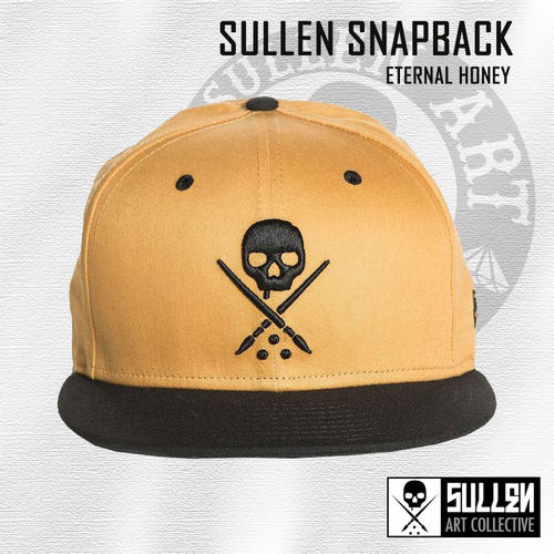 Sullen Snapback - Eternal Honey - Mustard/Black