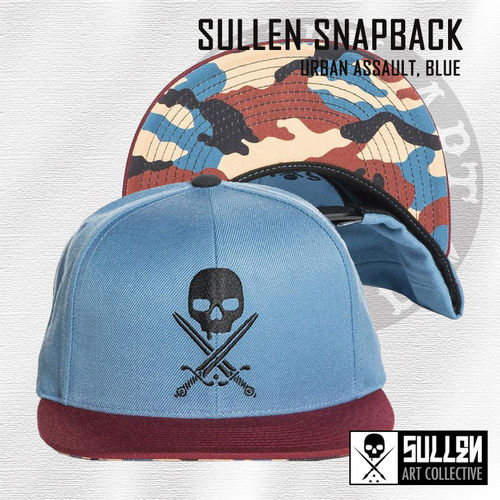 Sullen Snapback - Urban Assault - Blue