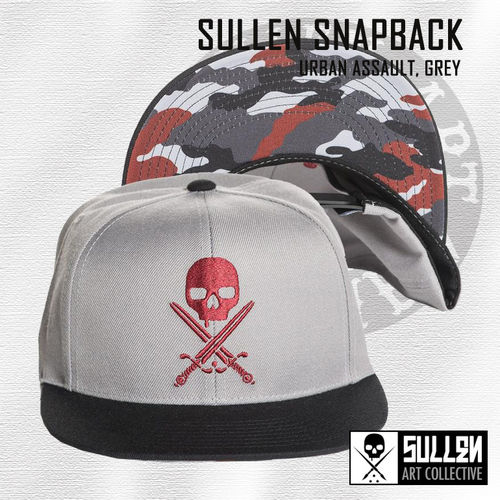 Sullen Snapback - Urban Assault - Grey