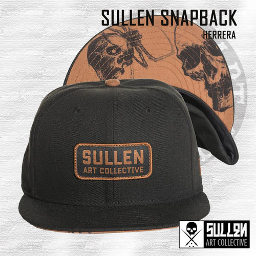 Sullen Snapback - Herrera - Black/Brown