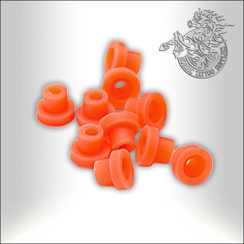 EZ Silicone Nipple Grommets 100pcs - Orange