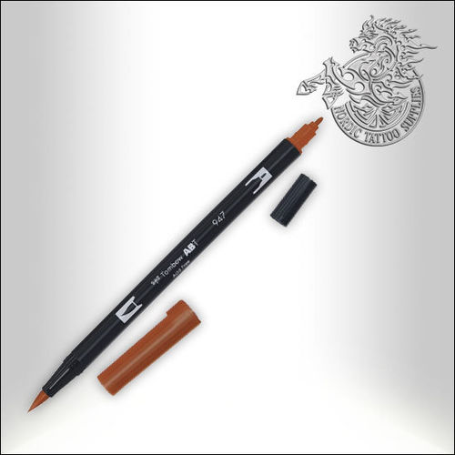 Tombow Pen 947 Burnt Sienna