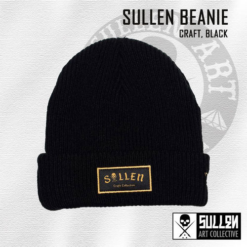 Sullen - Craft Beanie - Black