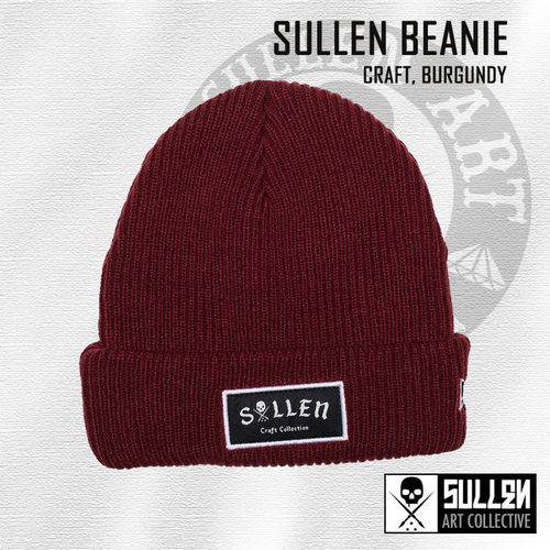 Sullen - Craft Beanie - Burgundy