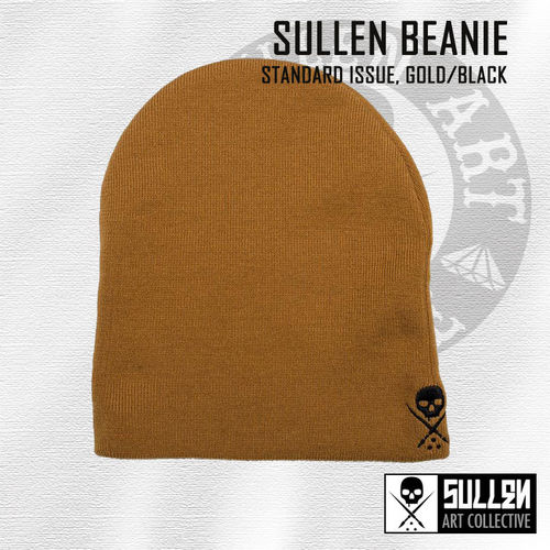 Sullen - NE Standard Issue Beanie - Gold/Black