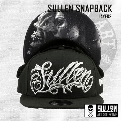 Sullen - Layers Snapback - Black