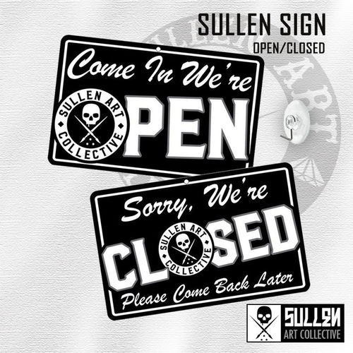 Sullen Store Open/Closed Sign