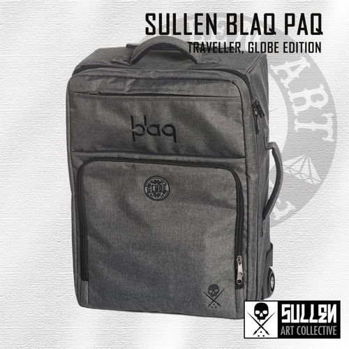 Sullen Blaq Baq - Traveller Bag Globe Edition