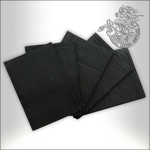 Dental Bibs 125pcs - Black