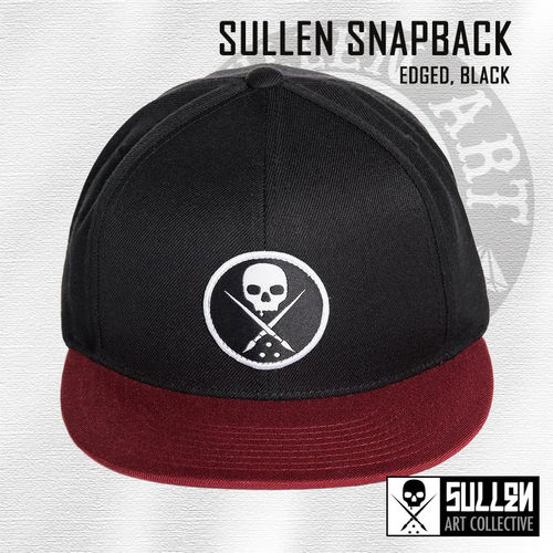 Sullen Snapback - Edged - Black