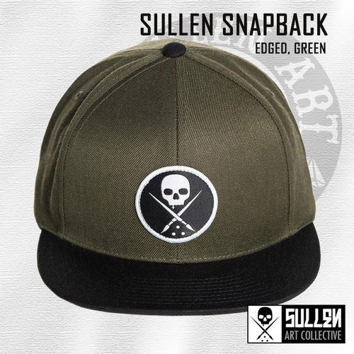 Sullen Snapback - Edged - Military Green
