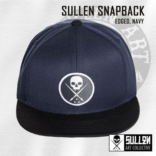 Sullen Snapback - Edged - Navy
