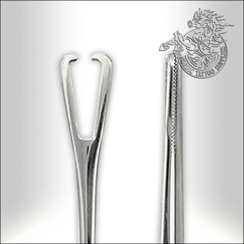 Mini Pennington Forceps 6 inch Slotted