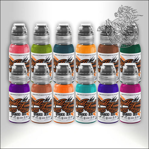 World Famous Ink Jay Freestyle Watercolor Set 12x30ml