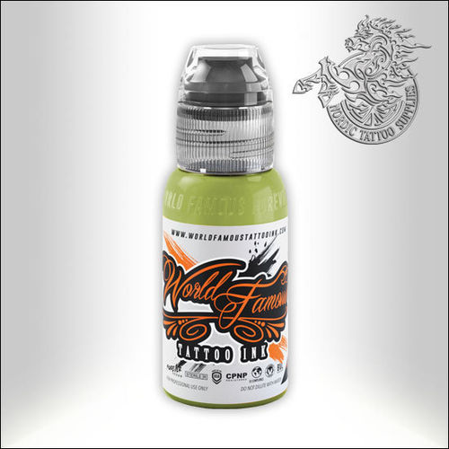 World Famous Ink - Vincent Zatter - Musk Lime, 30ml