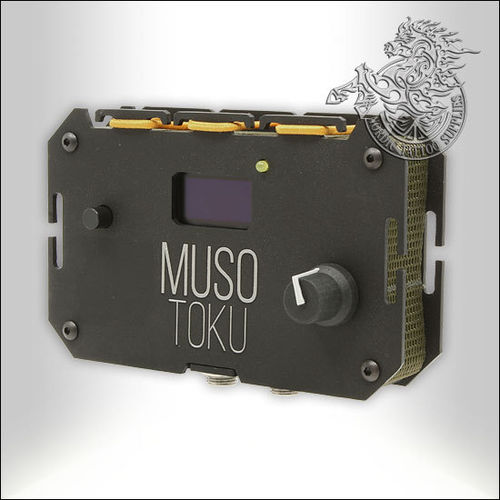 Musotoku Power Unit - Dark Matt Black