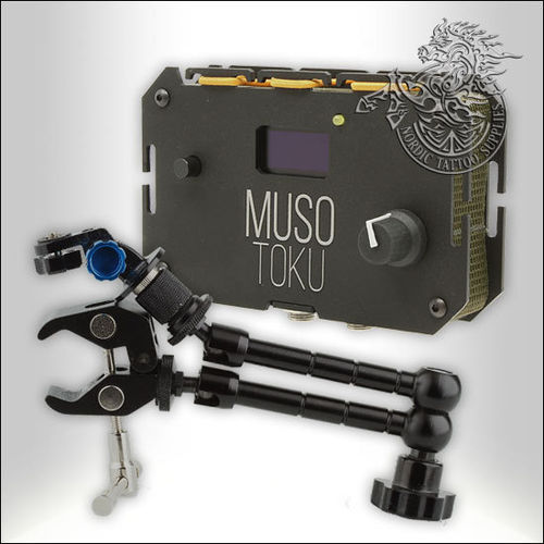 Musotoku Power Unit - Dark Matt Black + Clamp Arm Combo