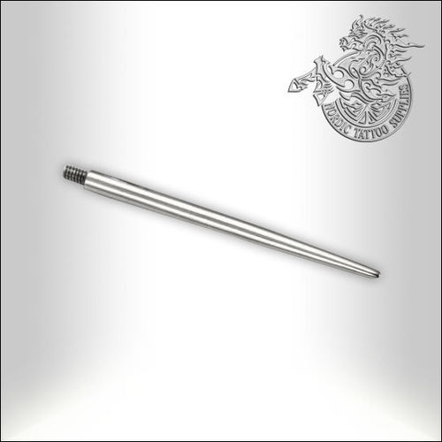 "Threaded 1"" Pin Taper for 16G with .90mm Threading"