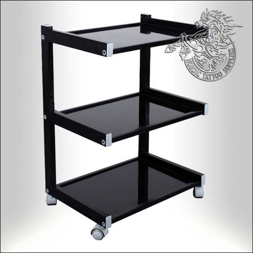 Kwadron High Class - Mobile Table with 3 Shelves