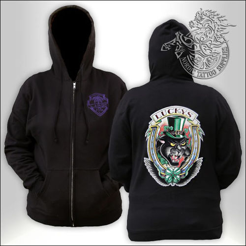 Lucky Supplies Panther Zip Hoodie
