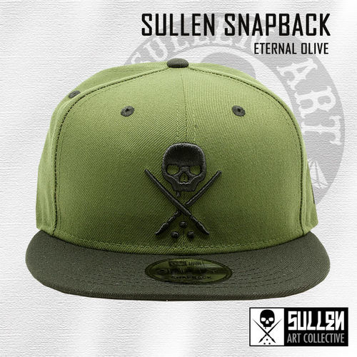 Sullen Snapback - Eternal Olive - Military Green/Black