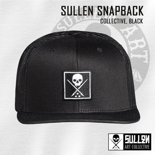 Sullen Snapback - Collective - Black