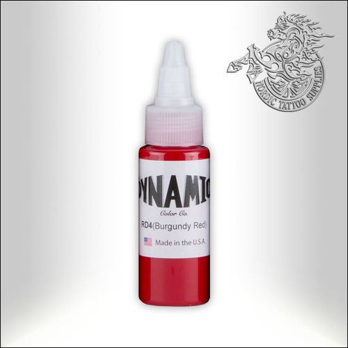 Dynamic Ink 30ml Burgundy Red