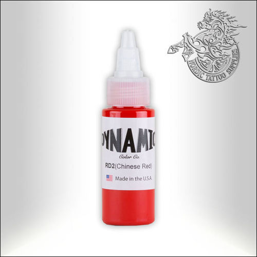 Dynamic Ink 30ml Chinese Red