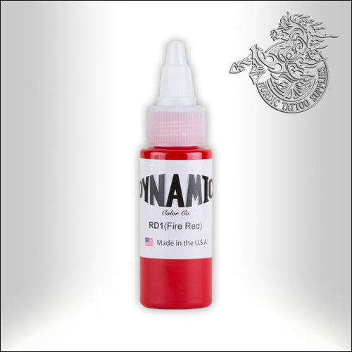 Dynamic Ink 30ml Fire Red