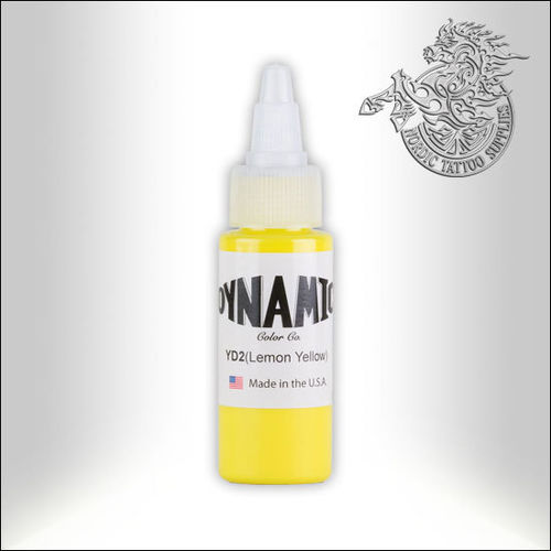 Dynamic Ink 30ml Lemon Yellow