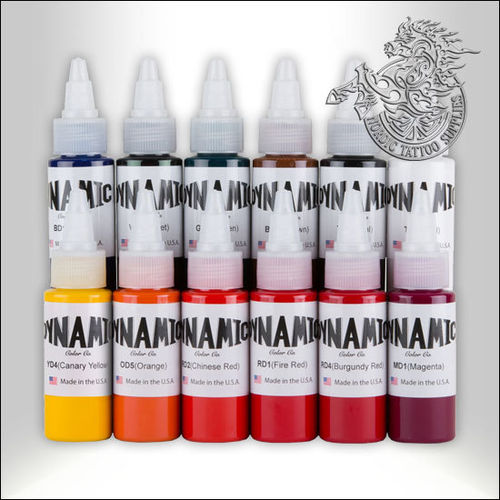 Dynamic Ink 30ml Basic Sample Pack 12 Colors