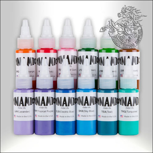 Dynamic Ink 30ml Blends Sample Pack 12 Colors