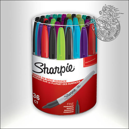Sharpie Marker 36-Pack Tub