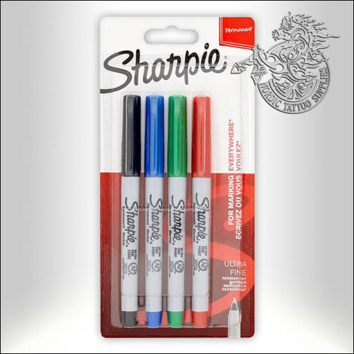 Sharpie Ultra Fine Marker 4-Pack