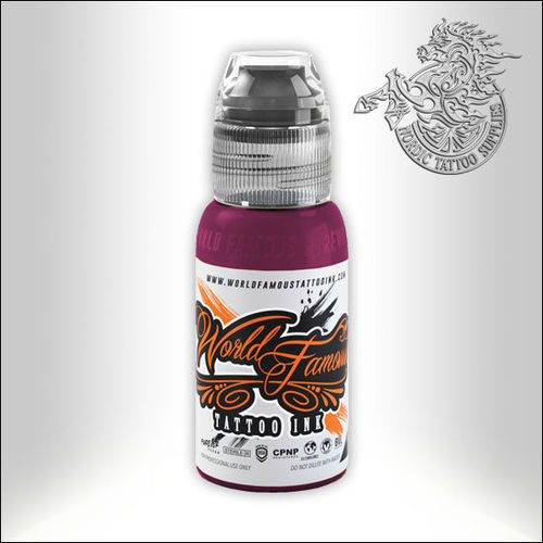 World Famous Ink - Hori Hui - Deep Magenta, 30ml